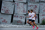 Runners compete at the Wings for Life World Run on May 4, 2014 in Hualien, Taiwan. Photo by Andy Jones / Power Sport Images