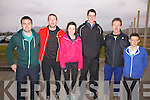 Members of Iveragh AC taking part in the 5K Road Championships in Cahersiveen on Sunday last pictured l-r; Gearóid O'Driscoll, Ger O'Shea, Bridget Dennehy, Liam O'Connell, Patrick O'Shea & Niall O'Shea.