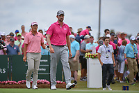 Webb Simpson (USA) heads down 1 during round 4 of The Players Championship, TPC Sawgrass, at Ponte Vedra, Florida, USA. 5/13/2018.<br /> Picture: Golffile | Ken Murray<br /> <br /> <br /> All photo usage must carry mandatory copyright credit (&copy; Golffile | Ken Murray)