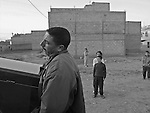 .Ahmed and Ali cross the Strait of Gibraltar acommpanying the corpse of their relative Malika Laaroussi, 22, who died the 22nd of April 2004, arriving from Morocco to Motril, at the Spanish coast, in a small boat with another 30 young men and women. The reportage tells the trip and the burial of Malika.