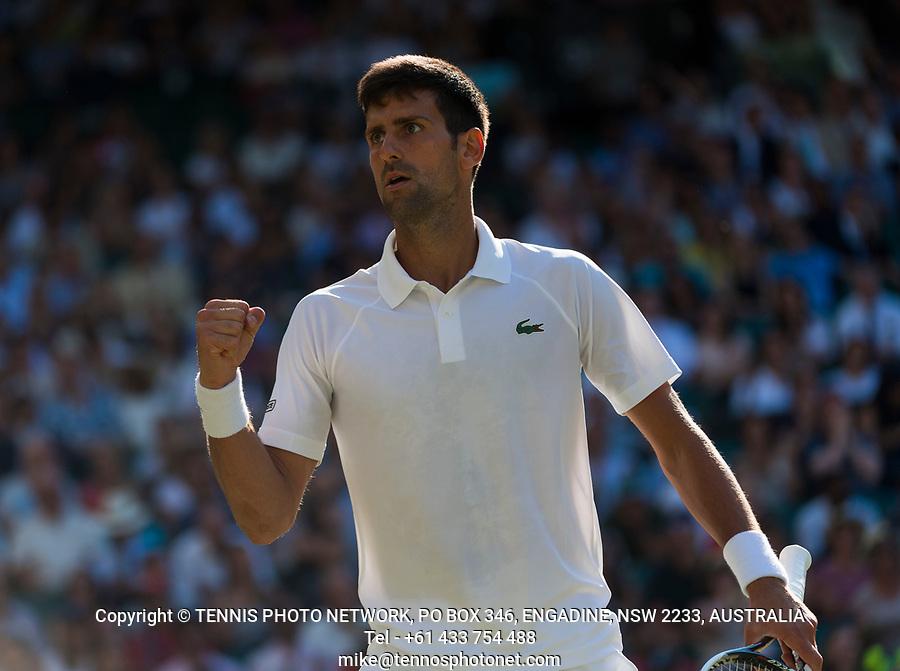 NOVAK DJOKOVIC (SRB)<br /> <br /> TENNIS - THE CHAMPIONSHIPS - WIMBLEDON- ALL ENGLAND LAWN TENNIS AND CROQUET CLUB - ATP - WTA -ITF - WIMBLEDON-SW19, LONDON, GREAT  BRITAIN- 2017  <br /> <br /> <br /> &copy; TENNIS PHOTO NETWORK