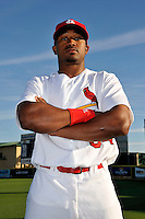 Mar 01, 2010; Jupiter, FL, USA; St. Louis Cardinals outfielder Daryl Jones (84) during  photoday at Roger Dean Stadium. Mandatory Credit: Tomasso De Rosa/ Four Seam Images