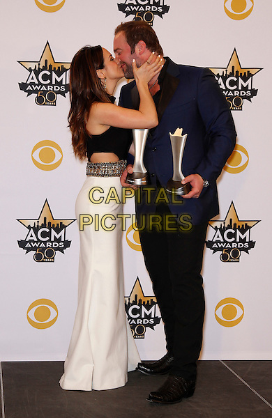 19 April 2015 - Arlington, TX -   Lee Bricel.  The 2015 ACM Awards at AT&amp;T Stadium- Press Room<br /> CAP/ADM/MJT<br /> &copy; MJT/AdMedia/Capital Pictures