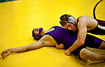 hamiltonp8 - Miguel Espino of Bradley Tech loses in overtime to Aaron Sobieszczyk (CQ) of Wauwatosa, in Milwaukee on Thursday, December 23, 2010. Photographed by MARK ABRAMSON/MABRAMSON@JOURNALSENTINEL.COM