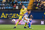 Víctor Ruiz Torre of Villarreal CF fights for the ball with Willian Jose da Silva of Real Sociedad during their Copa del Rey 2016-17 Round of 16 match between Villarreal and Real Sociedad at the Estadio El Madrigal on 11 January 2017 in Villarreal, Spain. Photo by Maria Jose Segovia Carmona / Power Sport Images