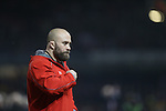 Wales conditioning coach Dan Baugh.<br /> RBS 6 Nations 2014<br /> Wales v France<br /> Millennium Stadium<br /> 21.02.14<br /> <br /> &copy;Steve Pope-SPORTINGWALES