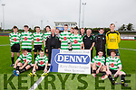 Winners Killarney Celtic at the Denny Youths Final Killarney Celtic v Park FC at Mounthawk Park on Sunday