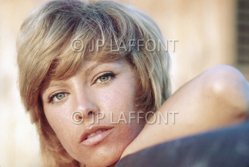 March 1971, Bahamas: Photographed in the Bahamas at the Great Harbour Cay. <br />