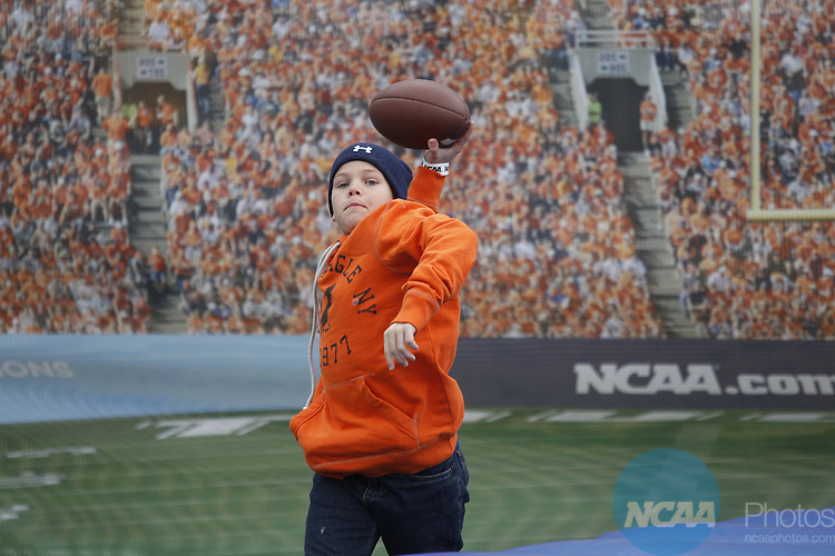 05 JAN 2013:  Sam Houston State University takes on North Dakota State University during the Division I Men's Football Championship held at FC Dallas Stadium in Frisco, TX.  Ron Jenkins/NCAA Photos