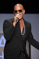 Chris Willis performs at Miami Fashion Week 2013, March 24, 2013, Convention Center, Miami Beach, FL