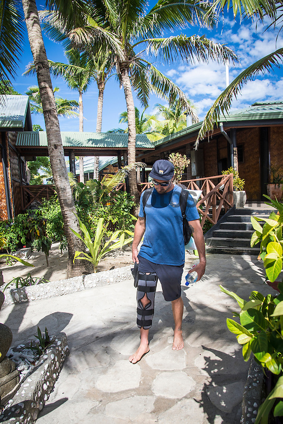 Namotu Island Resort, Nadi, Fiji (Friday, June 3 2016): The swell today was in the 3'- 4'range with very light Trade Winds  early. There was a  free surf session at Cloudbreak around the low tide but it was very slow. The swell was on the way up with the occasional West peak coming in.<br /> Photo: joliphotos.com