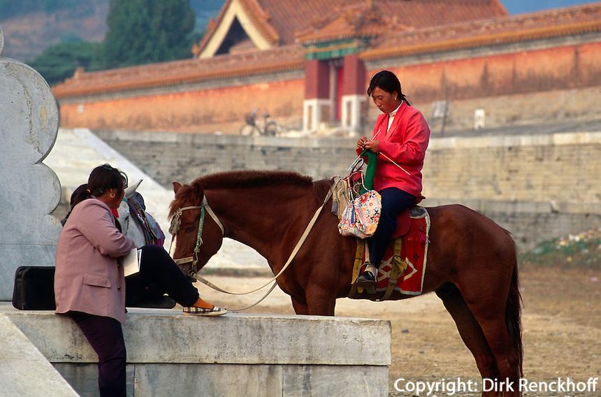 östliche Qinggräber (QingDongLing) bei Peking, China, Unesco-Weltkulturerbe