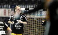 EHF Champions League Handball Damen / Frauen / Women - HC Leipzig HCL : SD Itxako Estella (spain) - Arena Leipzig - Gruppenphase Champions League - im Bild: Sara Eriksson. Foto: Norman Rembarz .