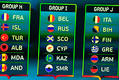 2018 Euro 2020 Team Draw Ireland Dec 2nd