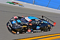 #10 Corvette DP, Ricky Taylor, Jordan Taylor, Max Angelelli, Rolex 24 at Daytona, IMSA Tudor Series, Daytona International Speedway, Daytona Beach, FL, Jan 2015.  (Photo by Brian Cleary/ www.bcpix.com )