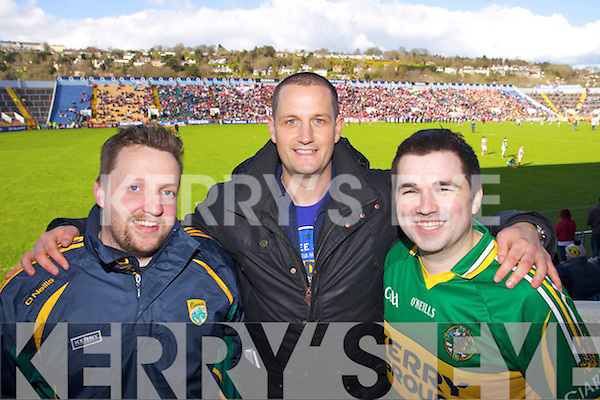 Kerry v  Cork in Round 5 of Division One of the National Football League at Pairc Ui Caoimh on Sunday.