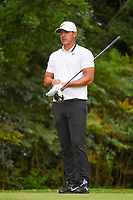 Brooks Koepka (USA) looks over his tee shot on 13 during round 2 of the 2019 Tour Championship, East Lake Golf Course, Atlanta, Georgia, USA. 8/23/2019.<br /> Picture Ken Murray / Golffile.ie<br /> <br /> All photo usage must carry mandatory copyright credit (© Golffile | Ken Murray)