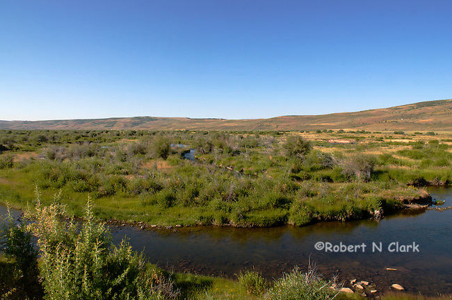 Ham's Fork River in Wyoming