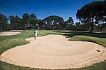 PORTUGAL - Quinta do Conde- Golfbaan Quinta do Peru Golf & Country Club. Hole14.  COPYRIGHT KOEN SUYK