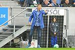 Hoffenheims Trainer Julian Nagelsmann  beim Spiel in der Fussball Bundesliga, TSG 1899 Hoffenheim - VfL Wolfsburg.<br /> <br /> Foto &copy; PIX-Sportfotos *** Foto ist honorarpflichtig! *** Auf Anfrage in hoeherer Qualitaet/Aufloesung. Belegexemplar erbeten. Veroeffentlichung ausschliesslich fuer journalistisch-publizistische Zwecke. For editorial use only.
