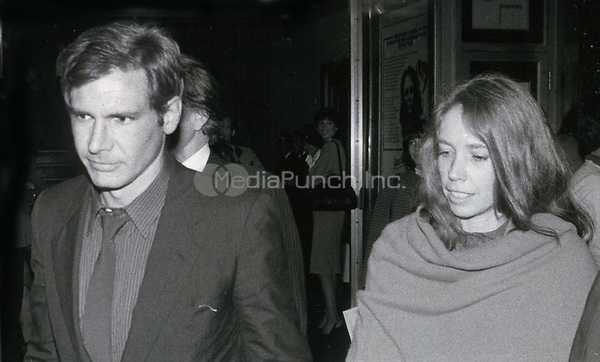 Harrison Ford and Melissa Mathison 1978<br /> Photo By John Barrett-PHOTOlink.net / MediaPunch