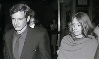 Harrison Ford and Melissa Mathison 1978<br /> Photo By John Barrett-PHOTOlink.net / MediaPunch