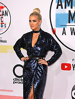 LOS ANGELES, CA - OCTOBER 09: Ashlee Simpson attends the 2018 American Music Awards at Microsoft Theater on October 9, 2018 in Los Angeles, California. <br /> CAP/MPI/IS<br /> &copy;IS/MPI/Capital Pictures
