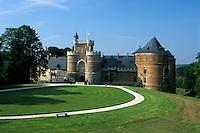 Belgium, Province Brabant, Gaasbeek near Brussels: Gaasbeek Palace | Belgien, Provinz Brabant, Gaasbeek bei Bruessel: Schloss Gaasbeek aus dem 13. Jahrhundert