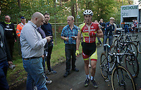 Laurens Sweeck (BEL/Corendon-Kwadro) post-race<br /> <br /> GP Neerpelt 2014
