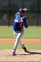 Richard Alvarez - Texas Rangers 2009 Instructional League.Photo by:  Bill Mitchell/Four Seam Images..