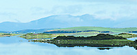 Looking North towards Mallaranny across the Clew Bay, Westport, Mayo, Ireland