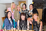 Celebrating her 47th birthday with friends on Friday night at Bella Bia's was Geraldine Gardizi.Pictured front l-r Ann Phelan, Geraldine Gardeizi (birthday girl) and Yvonne Quill.Back l-r Lorraine Walsh, Serena Kennelly,Vicky Young and Majella O'Sullivan