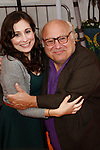 LOS ANGELES, CA - FEB 19: Danny DeVito;  Lucy DeVito at the 'Dr. Suess' The Lorax' premiere at Universal Studios Hollywood on February 19, 2012 in Los Angeles, California