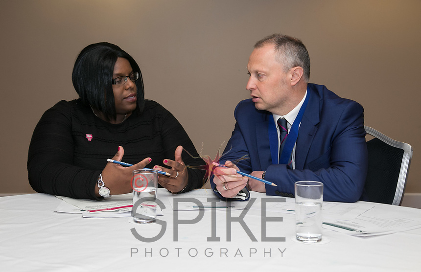 Lorna Reid of Business in the Community and President Mark Deakin