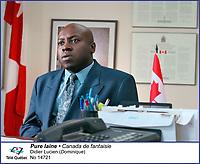 Didier Lucien  dans Pure Laine<br /> <br /> <br /> Editorial Only - for media use only<br /> Pour usage media (editorial)  Uniquement<br /> <br /> (c) Tele Quebec