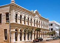 Galveston:  Heidenheimer Bldg., 1875. 23rd near Mechanic. Venetian Gothic Commercial.  Photo '96.