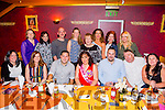 Rebecca Roche, (Tralee Musical Society), celebrating her 40th birthday with friends and family on Saturday night at Ristorante Uno