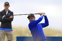 Mikko Korhonen (FIN) tees off the 15th tee during Thursday's Round 1 of the 2018 Dubai Duty Free Irish Open, held at Ballyliffin Golf Club, Ireland. 5th July 2018.<br /> Picture: Eoin Clarke | Golffile<br /> <br /> <br /> All photos usage must carry mandatory copyright credit (&copy; Golffile | Eoin Clarke)