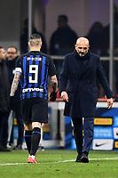 Mauro Icardi, Luciano Spalletti of Internazionale <br /> Milano 03-02-2019 Stadio San Siro Football Serie A 2018/2019 Inter - Bologna    <br /> Foto Image Sport / Insidefoto