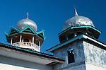 Mosque minarets, Papagaran island, Komodo National Park