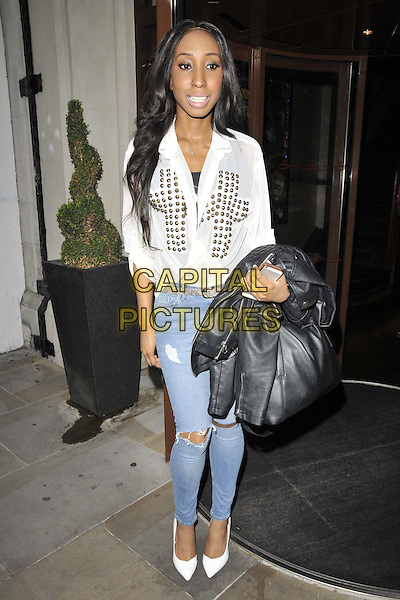 LONDON, ENGLAND - JULY 15: DJ Yuki Love ( Osayuki Vanessa Omo-Uwamere ) of The Glitter Beats attends the Mike Hough's EP &quot;Lost In Love&quot; launch party, Sanctum Soho Hotel, Warwick St., on Tuesday July 15, 2014 in London, England, UK.<br /> CAP/CAN<br /> &copy;Can Nguyen/Capital Pictures