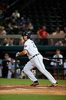 Lakeland Flying Tigers first baseman Reynaldo Rivera (35) at bat during a Florida State League game against the Tampa Tarpons on April 5, 2019 at Publix Field at Joker Marchant Stadium in Lakeland, Florida.  Lakeland defeated Tampa 5-3.  (Mike Janes/Four Seam Images)