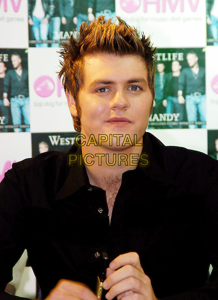 WESTLIFE - Brian MCFADDEN<br /> signing new single &quot;Mandy&quot; in HMV Trocadero, Piccadilly Circus<br /> www.capitalpictures.com<br /> sales@capitalpictures.com<br /> &copy;Capital Pictures