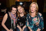 Suzanne Bergin, Siobhan Long and Catherine O'Rourke pictured at the Duke Special gig in The Venue at McHugh's. Photo:Colin Bell/pressphotos.ie