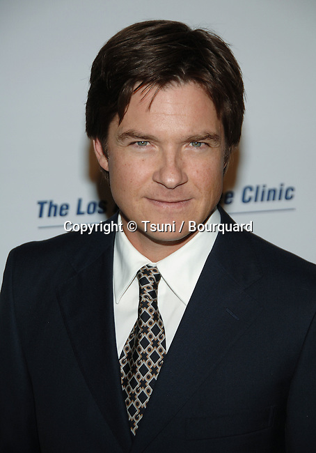 Jason Bateman arriving at Los Angeles Free Clinic Dinner Gala at the Beverly Hilton in Los Angeles.<br /> <br /> headshot<br /> eye contact
