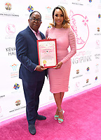 20 May 2018 - Beverly Hills, California - Mark Ridley-Thomas, Vivica A. Fox. 10th Annual Pink Pump Affair Charity Gala: A Decade Celebrating Women held at Beverly Hills Hotel. Photo Credit: Birdie Thompson/AdMedia