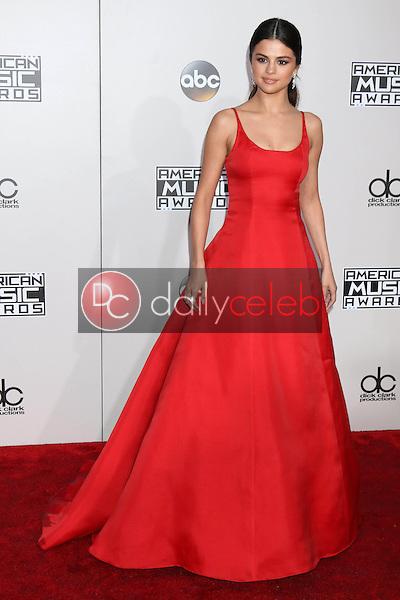 Selena Gomez<br /> at the 2016 American Music Awards, Microsoft Theater, Los Angeles, CA 11-20-16<br /> David Edwards/DailyCeleb.com 818-249-4998
