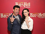 "Bradley Dean and Lena Hall during Jim Steinman's ""Bat Out of Hell - The Musical"" - Open Rehearsal at New York City Center on July 30, 2019 in New York City."