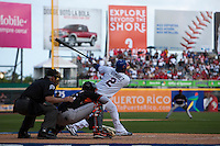 7 March 2009: #2 Hanley Ramirez of the Dominican Republic hits the ball during the 2009 World Baseball Classic Pool D match at Hiram Bithorn Stadium in San Juan, Puerto Rico. Netherlands pulled off a huge upset in their World Baseball Classic opener with a 3-2 victory over Dominican Republic.