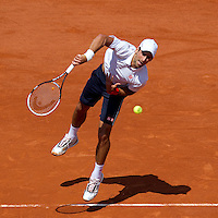 Novak Djokovic..Tennis - Grand Slam - French Open- Roland Garros - Paris - Mon May 28th 2012...© AMN Images, 30, Cleveland Street, London, W1T 4JD.Tel - +44 20 7907 6387.mfrey@advantagemedianet.com.www.amnimages.photoshelter.com.www.advantagemedianet.com.www.tennishead.net